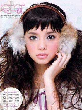 岸本セシルインテグレートモデル2012  前髪