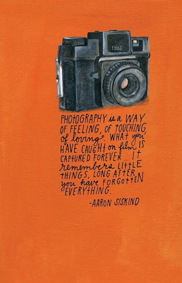 Inspiring Quotes By Famous Photographers Fill a New Journal - My Modern Metropolis http://ecameraeffects.com/using-light-for-portraits/