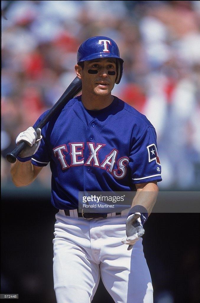 Randy Velarde With The Rangers Baseball Wrong Team