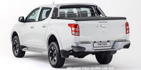 Mitsubishi Triton 2.4DI-D double cab 4x4 auto