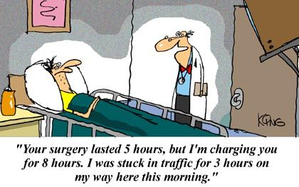 Funny Cartoon Laughs Size More Your Surgery Funny Cartoons