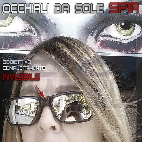 77e2bbe376 Occhiali con Telecamera nascosta invisibile | Telecamere Spia ...