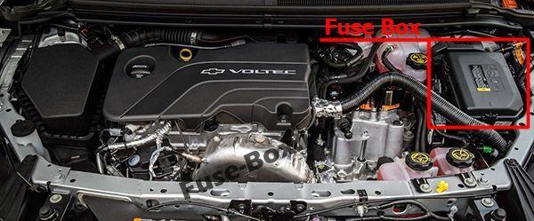 Chevrolet Volt (2016-2019..) < Fuse Box location | Chevrolet ... on