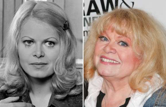 Sally Struthers (1971, 2016) - CBS via Getty Images; Tibrina Hobson/FilmMagic/Getty Images