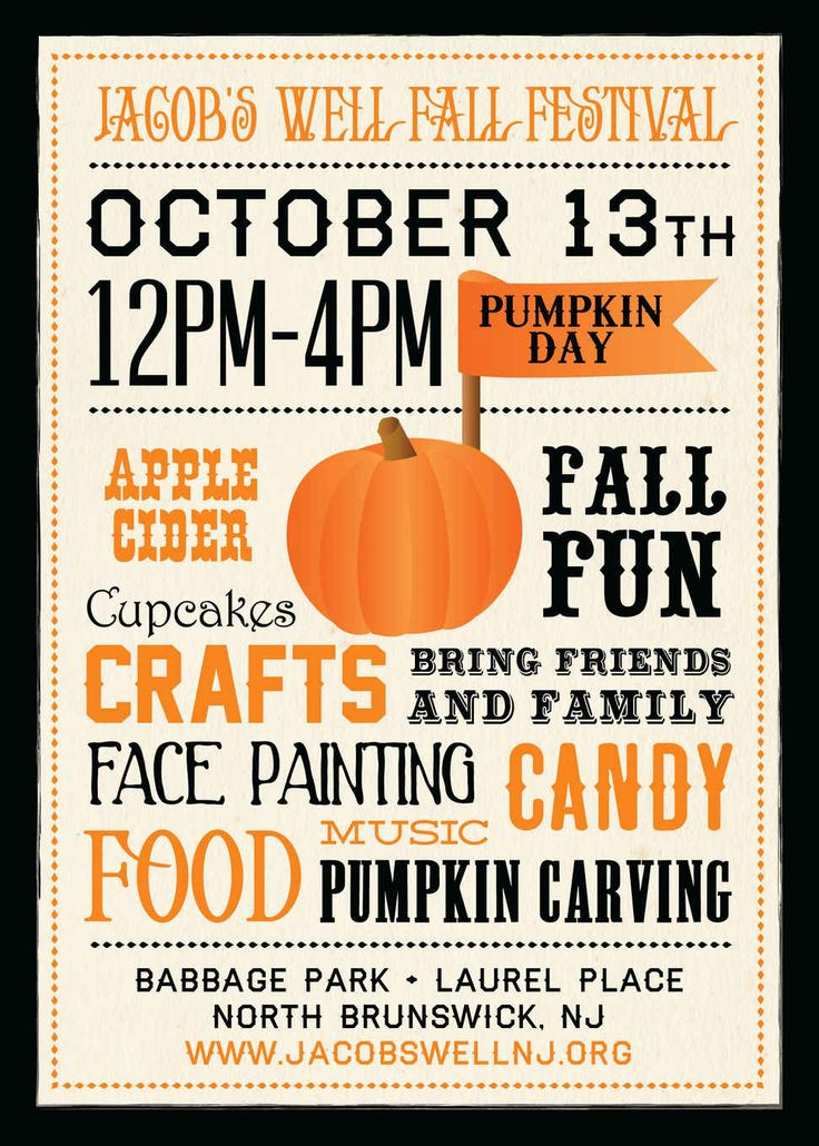 21 Best Fall Festival Images On Pinterest | Festival Posters, Fall