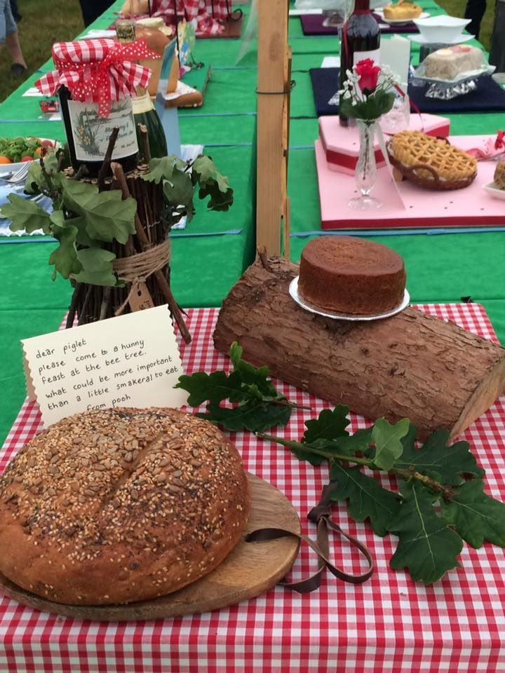 BREAKING NEWS.......Wirral Belles come 2nd in a combined class at the Cheshire Show. Well done to Louise Healey, Lorraine, Ali and Yasmin for getting a 2nd Prize Certificate with their entry portraying a picnic for Winnie the Pooh and Piglet in the 'Come Dine with Me' class