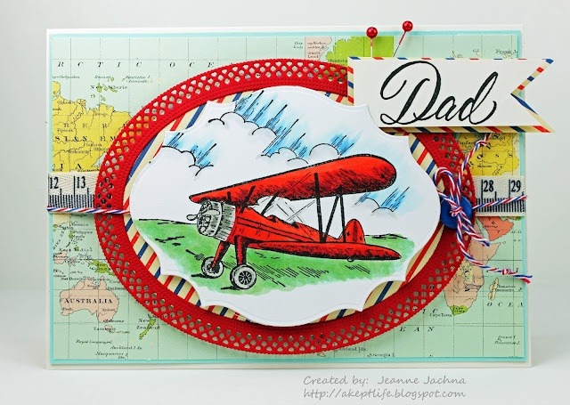 A Kept Life: Tuesday Throwdown #100 - Airplane  Created by Jeanne Jachna using Airplane and Dad