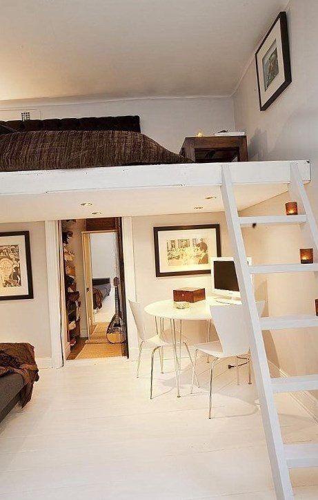 Small bedroom loft ideas - https://bedroom-design-2017.info/ideas/small-bedroom-loft-ideas.html. #bedroomdesign2017 #bedroom
