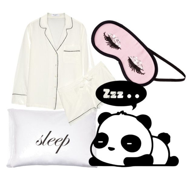 """""""Goodnight """" by fashioncopasser ❤ liked on Polyvore featuring Kiki de Montparnasse, Equipment and H&M"""