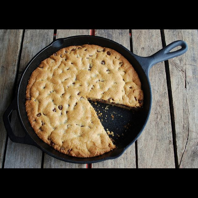 Baking in Crucible Cookware cast iron skillet
