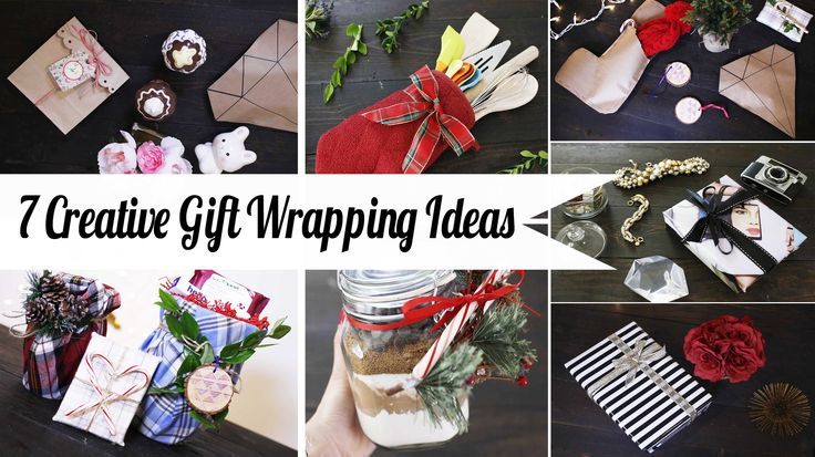7 Creative Gift Wrapping Hacks - Super Easy | ANNEORSHINE - http://www.freecycleusa.com/7-creative-gift-wrapping-hacks-super-easy-anneorshine/