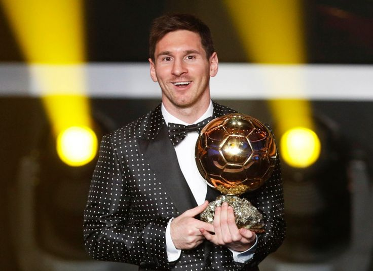 Messi is the only one who won world player for 4 times