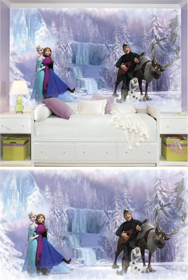 Disney Frozen XL Wall Mural   Wall Sticker Outlet Part 93
