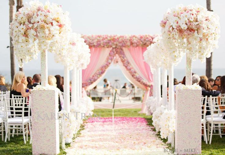 Bn Wedding Décor Outdoor Wedding Ceremonies: 331 Best Ceremony Backdrops Images On Pinterest