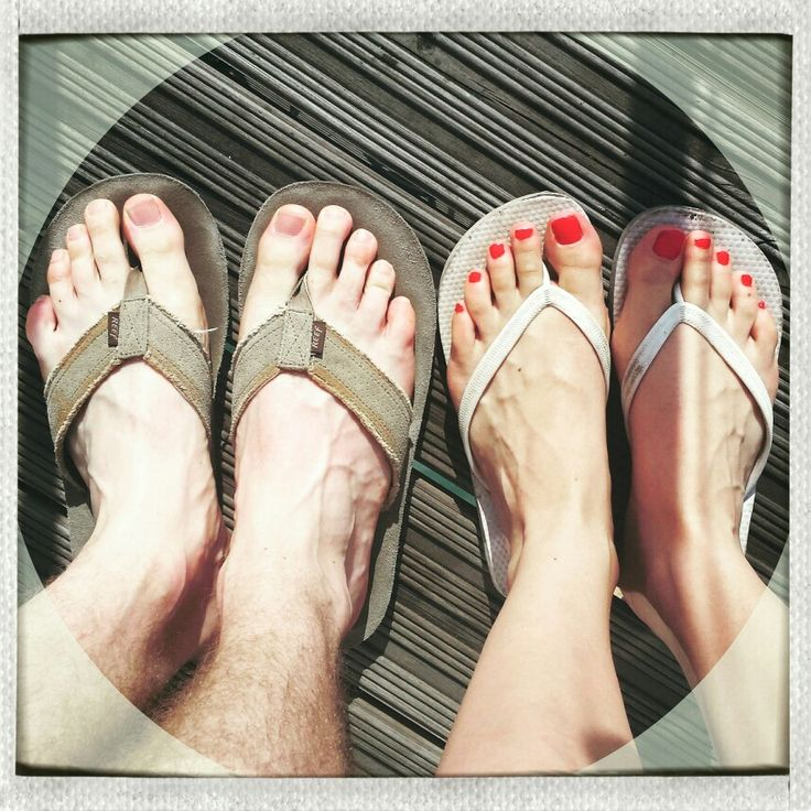 With highs of 34 degrees today, we chose the only acceptable footwear for #London's #heatwave