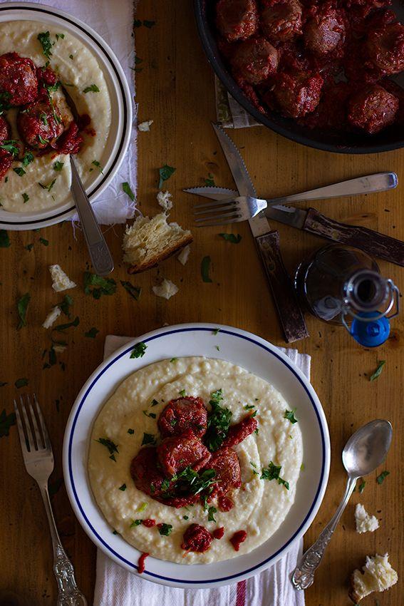 giroVegando in cucina: Polpette (vegan) al sugo e purè Vegan meatballs