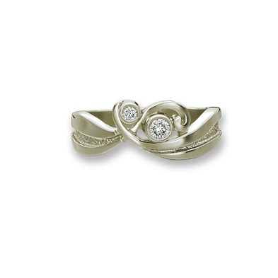 new Wave ring from Sheila Fleet gorgeous ring