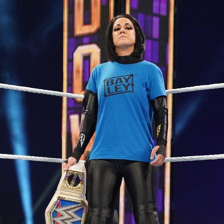 Pin on WWE BAYLEY