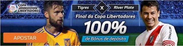 Apostas Tigres x River Plate. Final da Copa Libertadores 2015