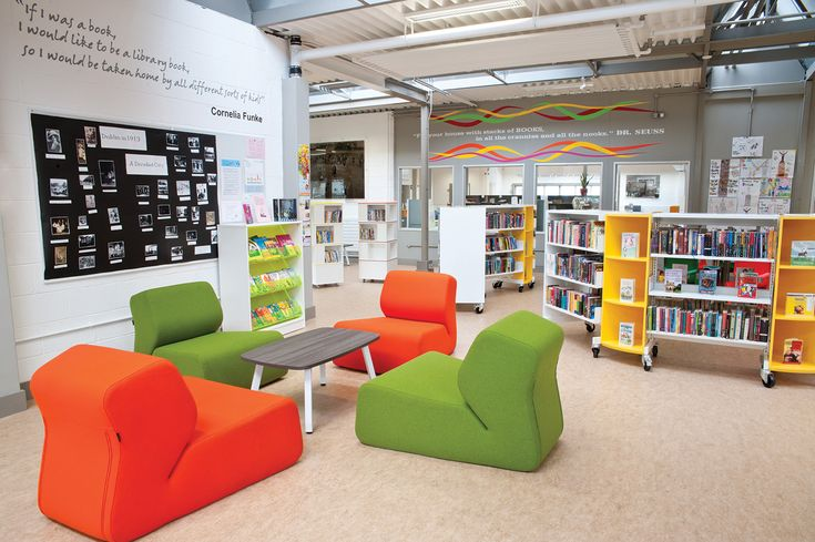 Dynamic and interactive furniture design for the library in Dublin