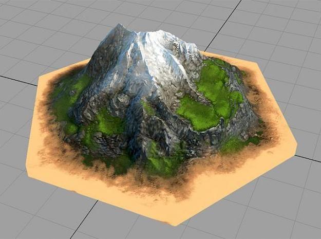 Catan_mountain_hexagon by tedparsec'