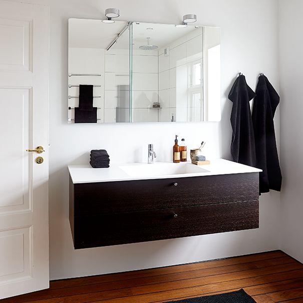 Minimalistisk - med maritime undertoner; Badeværelse inspiration, badeværelse indretning, bathroom inspiration