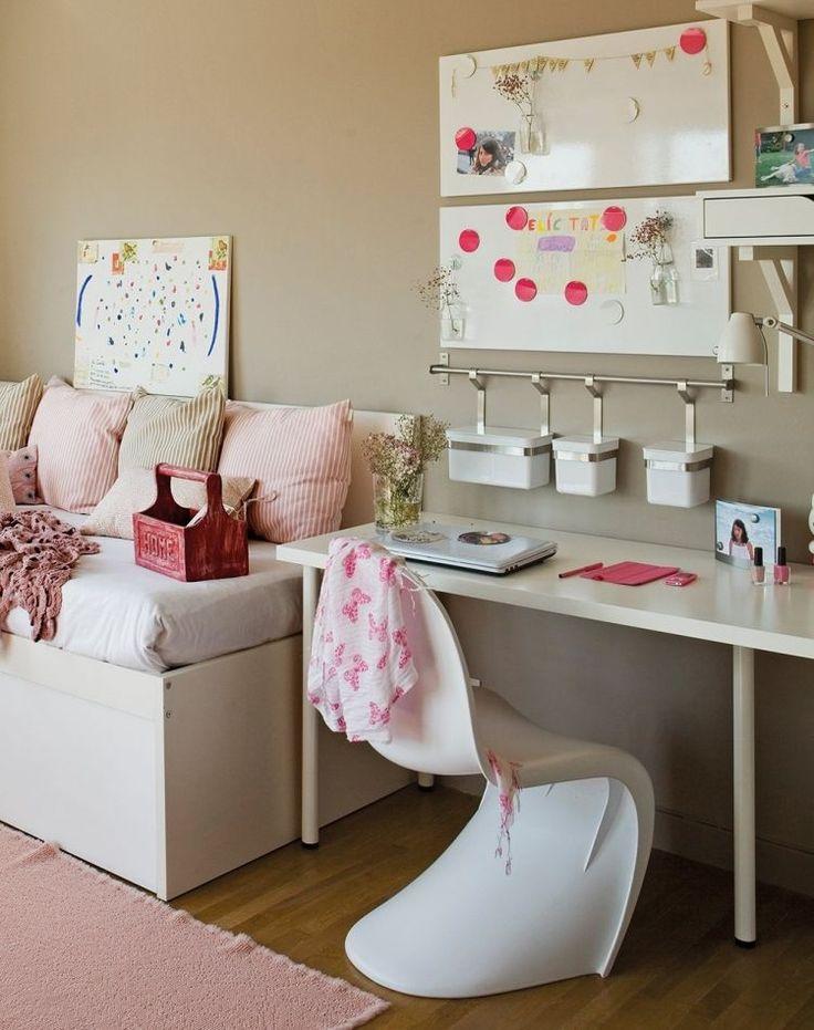 Jugendzimmer design mädchen weiß  Die besten 25+ Zimmer für Teenie Mädchen Ideen auf Pinterest ...