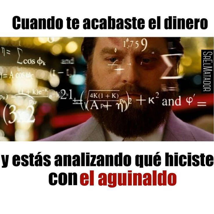 Estado sentimental: Modo Survivor hasta la quincena.  #SábadosDeDespecho #Dinero #Aguinaldo #Sueldo #Quincena #Hangover #matematica #finanzas #ElSalvador #SrElMatador