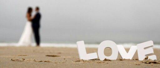 Foto idee op het strand