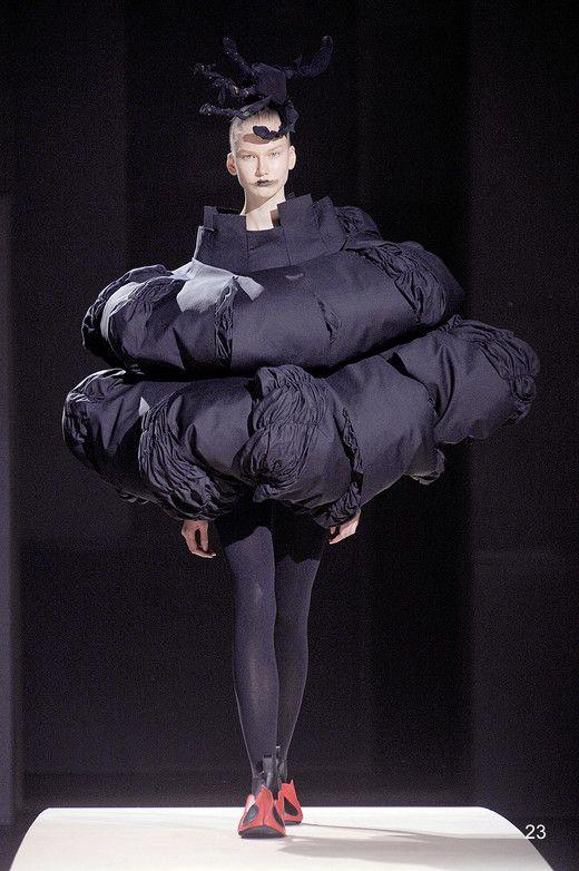 "2014 SS Paris: ""Clothes That Are Not Clothes"" by COMME des GARCONS #japanesefashion"