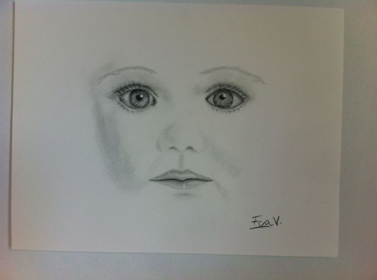 My first drawing of a face!