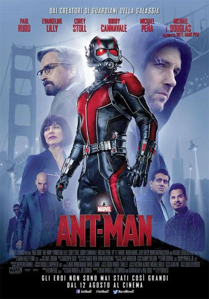 ::HD_GUARDA:: Ant-Man film completo streaming gratis ITA  GUARDA ORA: Link diretto streaming FILM online ITA ===>>>> http://bit.ly/1ODUxJZ GUARDA ORA: Link Download ===>>>> http://bit.ly/1ODUxJZ  Sinossi e dettagli: Un film di Peyton Reed. Con Paul Rudd, Michael Douglas, Evangeline Lilly, Corey Stoll, Bobby Cannavale. continua» Titolo originale Ant-Man. Fantascienza, Ratings: Kids+13, durata 117 min. - USA, Gran Bretagna 2015. - Walt Disney uscita mercoledì 12 agosto 2015.