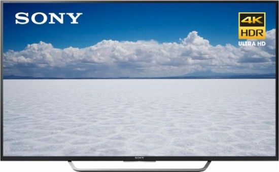 """Sony - 65"""" Class (64.5"""" Diag.) - LED - 2160p - Smart - 4K Ultra HD TV with High Dynamic Range - Front_Zoom"""