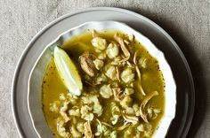 Green Chile, Chicken, Posole Soup, a recipe on Food52