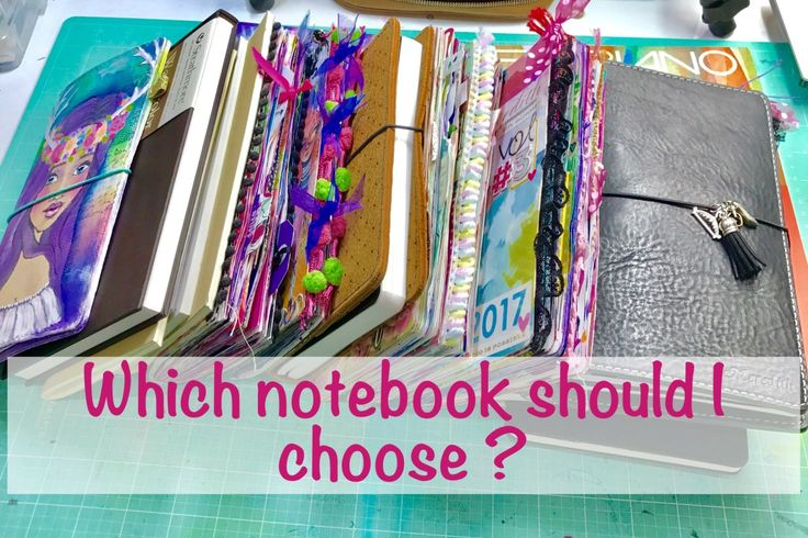 Which Notebook should I choose? This can be a hard question when scrolling through so many notebooks wondering which one to choose for your journal, art journal, sketchbook or plannercheck out my blog post or you tube video to hear about all of the travelers notebooks I have been using lately and what sort of notebooks and paper I love and why.