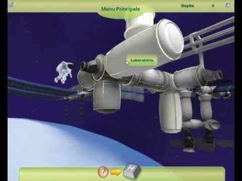 DAMALAB - Videogame  progettato e sviluppato  per l'Agenzia Spaziale Italiana