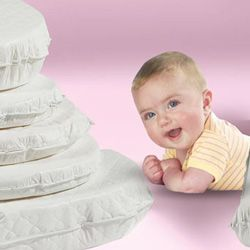 Oval Custom Mattress -  These priceless treasures need a safe, comfy mattress before precious baby can sleep peacefully in them. Well… purchasing that custom mattress has never been simpler. Just measure the interior dimensions of your cradle and make your selection.