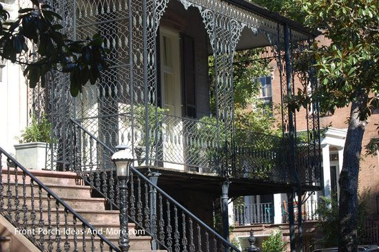 Porch Columns Design Options For Curb Appeal And More Porch Columns Wrought Iron And Railings