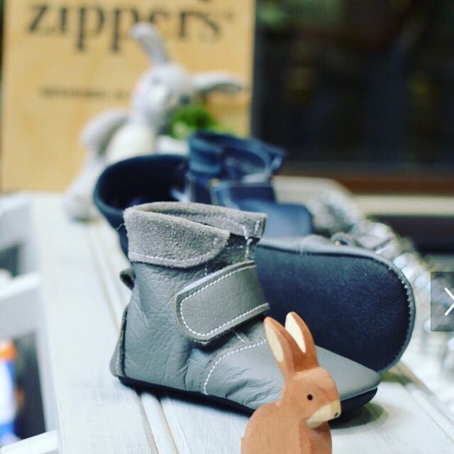 Handmade leather baby pre walker boots