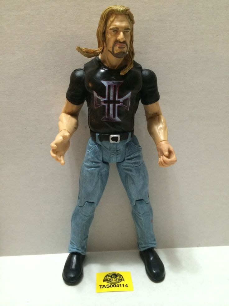 (TAS004114) - WWF WWE WCW Jakks LJN Wrestling Figure - Triple H (HHH)
