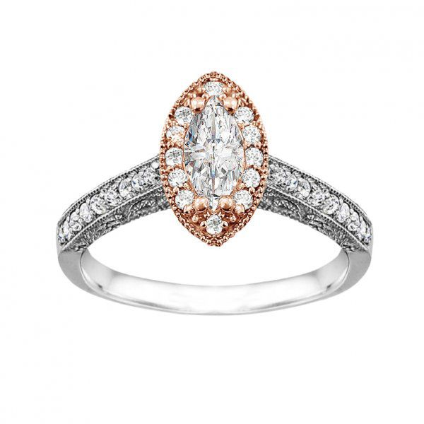 1000 ideas about Marquise Halo Rings on Pinterest