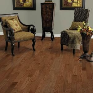 Mohawk Oak Winchester 3/8 In. Thick X 3 1/4 In. Wide X Random Length Click  Hardwood Flooring (23.5 Sq. Ft. / Case)