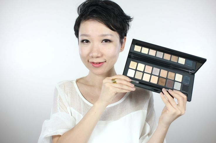 最棒的裸色眼影盘!植村秀 Shu Palette 打造日夜妆容 / Shu Palette 16 Nudes Day & Night Looks