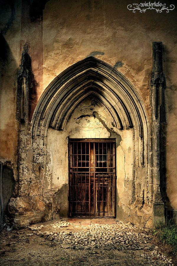 church detail by Wintertale-eu