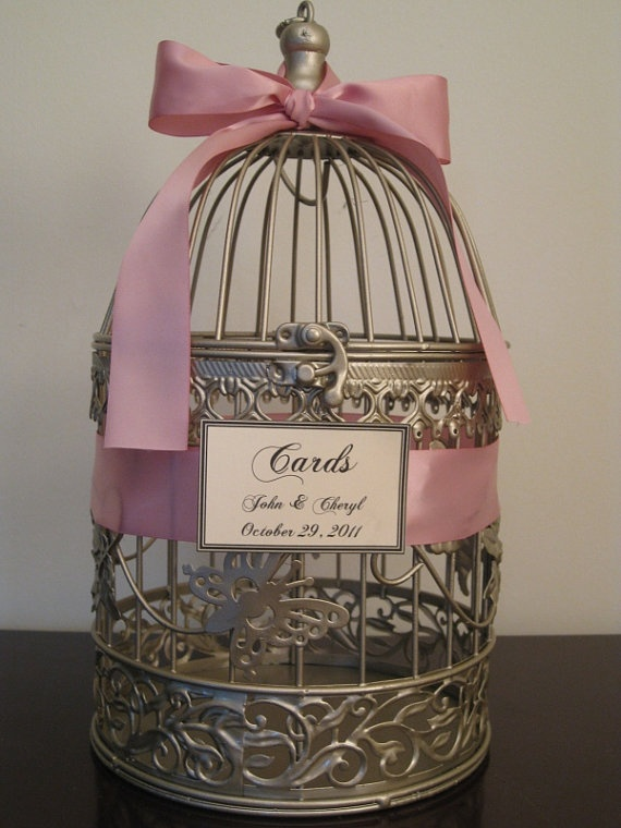 birdcage for cardscute