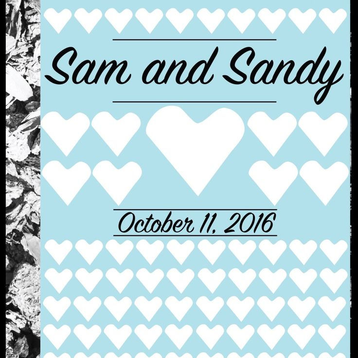 new in the shop! Guest book wedding poster. what a fun way to have a guest book. frame it after and hang it in your home.