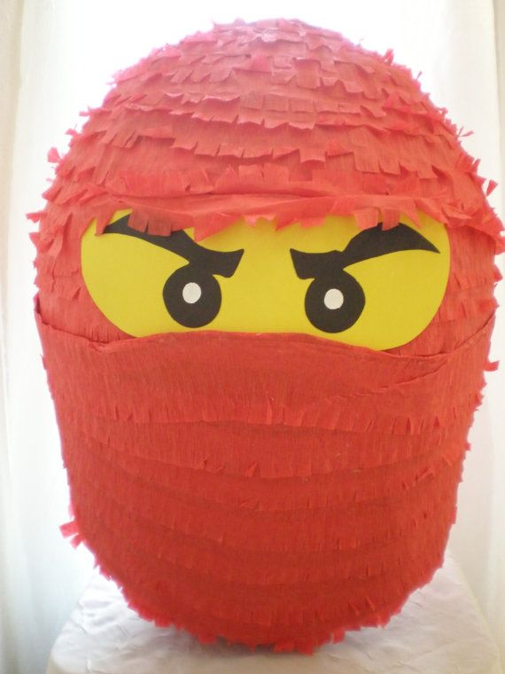 Lego inspired Ninjago Pinata