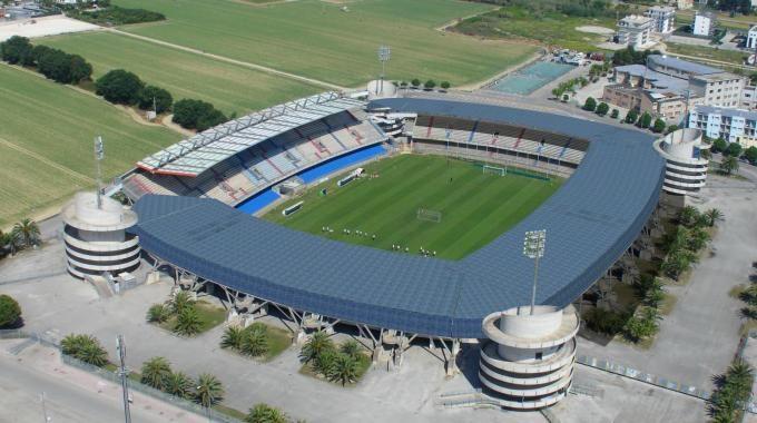 SAN BENEDETTO DEL TRONTO stadio RIVIERA delle PALME sambenedettese fc