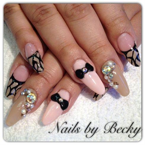 junk nail by LifeLovePolish - Nail Art Gallery nailartgallery.nailsmag.com by Nails Magazine www.nailsmag.com #nailart