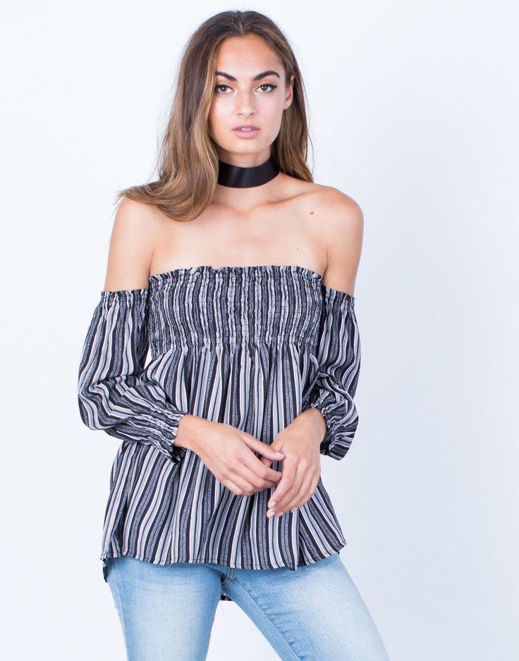Flaunt it Off-the-Shoulder Blouse